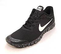 Кроссовки мужские  Nike Free Run 3.0 сетка черные (найк фри ран)(р.40,41,42,43,44,45)