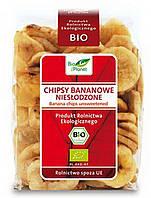 Органические чипсы банановые без сахара, Bio Planet, 150 г