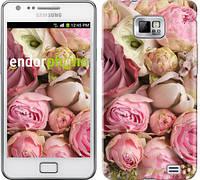 "Чехол на Samsung Galaxy S2 i9100 Розы v2 ""2320c-14-532"""