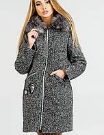 Женское зимнее пальто на молнии (Дания зима leо)