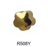 Серьги-иглы Формы STUDEX Цветочек (золото) 3мм (медицинская сталь)