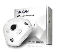 3D панорамная IP камера XPX 360 градусов, WI-FI, Full HD