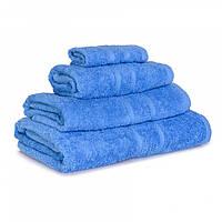 Махровое полотенце Luxury, Синий, Сауна 85*145см