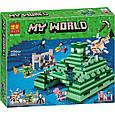 """Конструктор лего майнкрафт Аналог Lego Minecraft SY970 """"Подводный храм"""" 1144 дет, фото 4"""