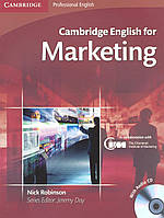 Cambridge English for Marketing Student's Book (+CD)