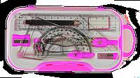 Готовальня 10 предметов, розовый zb.5315bs-10