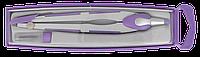Циркуль comfort в футляре + грифель, фиолетовый zb.5331cf-07