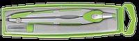 Циркуль comfort в футляре + грифель, салатовый zb.5331cf-15