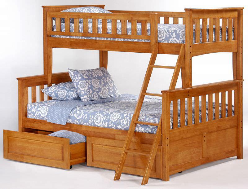 """Детские двухъярусные кровати """"Дункан"""""""