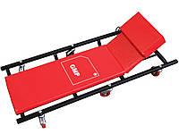 Подкатной лежак автосервиса GMP с регулировкой