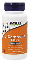 Л-Карнозин / NOW - L-Carnosine 500mg (50 caps)