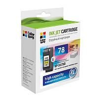 Картридж CW (CW-H78C) HP DJ 930C/950C/970C Color (аналог C6578D)