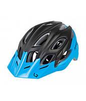 Шлем велосипедный Green Cycle Enduro черно-синий