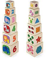 Игрушка Viga Toys Кубики (50392)