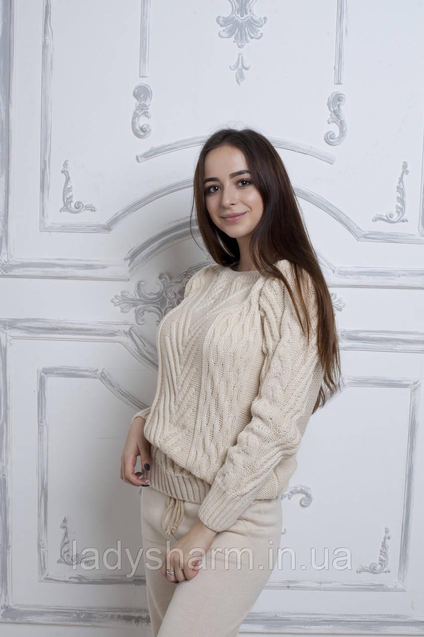 Костюм вязаный без горла Косичка, цена 610 грн., купить в Харькове ... 3fa173eb6c9