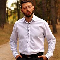 Классическая рубашка с вышивкой