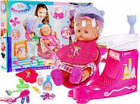 Детский набор парикмахерская салон красоты (умывальник и фен) + аксессуары + кукла