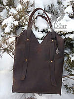 """Жіноча шкіряна сумка """"Рouch2"""", жіноча сумка ручної роботи"""