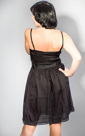 Сарафан женский черный вечерний коктельный Miss sixty, фото 2