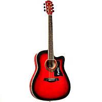 """Акустическая гитара Equites EQ902 C/RDS 41"""""""
