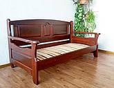 """Кровать из серии """"Орфей"""". Массив - сосна, ольха, береза, дуб."""