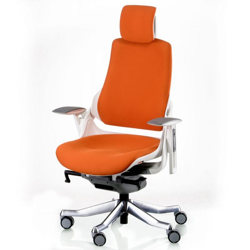 Кресло Special4You WAU MANDARIN FABRIC WHITE (Е5326)