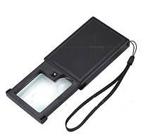 Личительное стекло с LED фонариком (лупа)21015