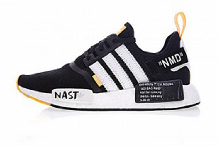 adidas NMD R1 PK shoes black white