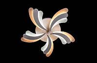 Светодиодная люстра с пультом белая 8074-5, фото 1