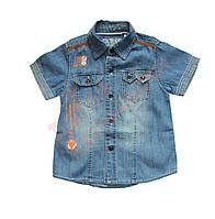 """Рубашка с коротким рукавом для мальчика """"Street Style"""" """"Guess"""", голубой, 10-12(3-10\12)"""