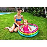 Детский надувной бассейн Intex 57104 Радуга 86х25 см, фото 2