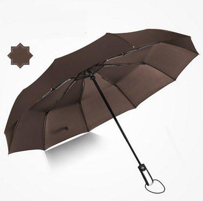 Зонт автомат коричневый