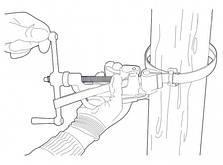 Інструмент для натягування й різання бандажної стрічки, фото 2