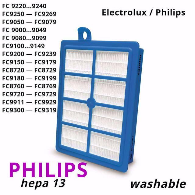 Фильтр Philips FC 9071, 9170, 9218 оригинал FC8038 для пылесосов, фото 1