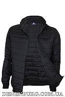 Куртка мужская демисезонная REMAIN 8304 чёрная, фото 1