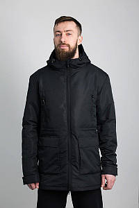 Куртка мужская ветровка Urban Planet WM6 BLKчерная XS S M L
