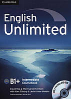 English Unlimited Intermediate Coursebook (with e-Portfolio DVD-Rom)