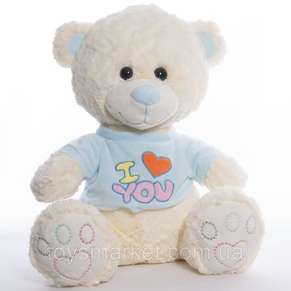 Детская мягкая игрушка, плюшевый мишка I love you