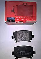 Тормозные колодки задние  Audi A6(C6) c 2004, A4 (3C0698451F, 3C0 698 451 E, 5N0698451, JZW698451G)