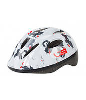 Шлем велосипедный детский Green Cycle KITTY белый