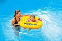 """Intex Плотик-ходунки 56587 EU """"Учимся плавать"""" (12) размером 79-79см, от 1 до 2 лет"""