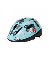 Шлем велосипедный детский Green Cycle KITTY мятный