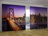 "Панорамная фото штора ""Сан-Франциско"" 270 х 500 см"