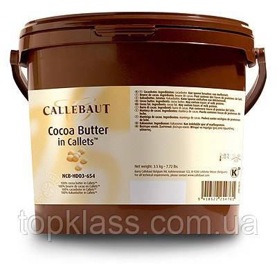 Какао масло Cacao Barry в каллетах 100%, 3кг