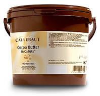 Какао масло Callebaut в каллетах 100%, 3кг