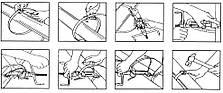 Інструмент для натягування й різання бандажної стрічки, фото 3
