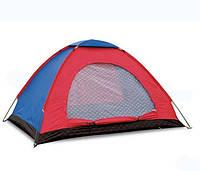 Палатка туристическая двухместная Shengyuan 004: 2х1,5х1,1 м, фото 1