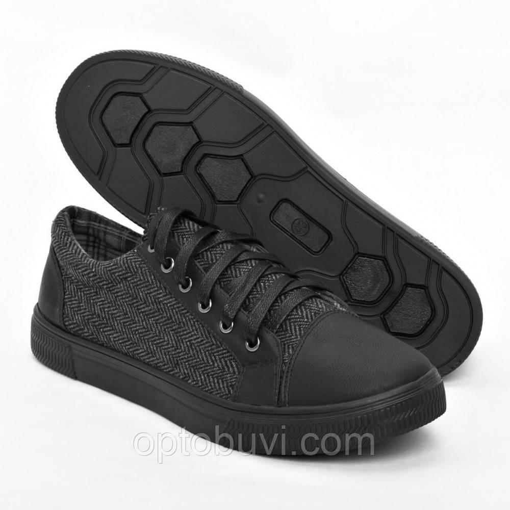 60d7813e6dc9 Кеды мужские серые с прошивкой на шнурках оптом Gipanis - Обувь оптом  Шуз-холл