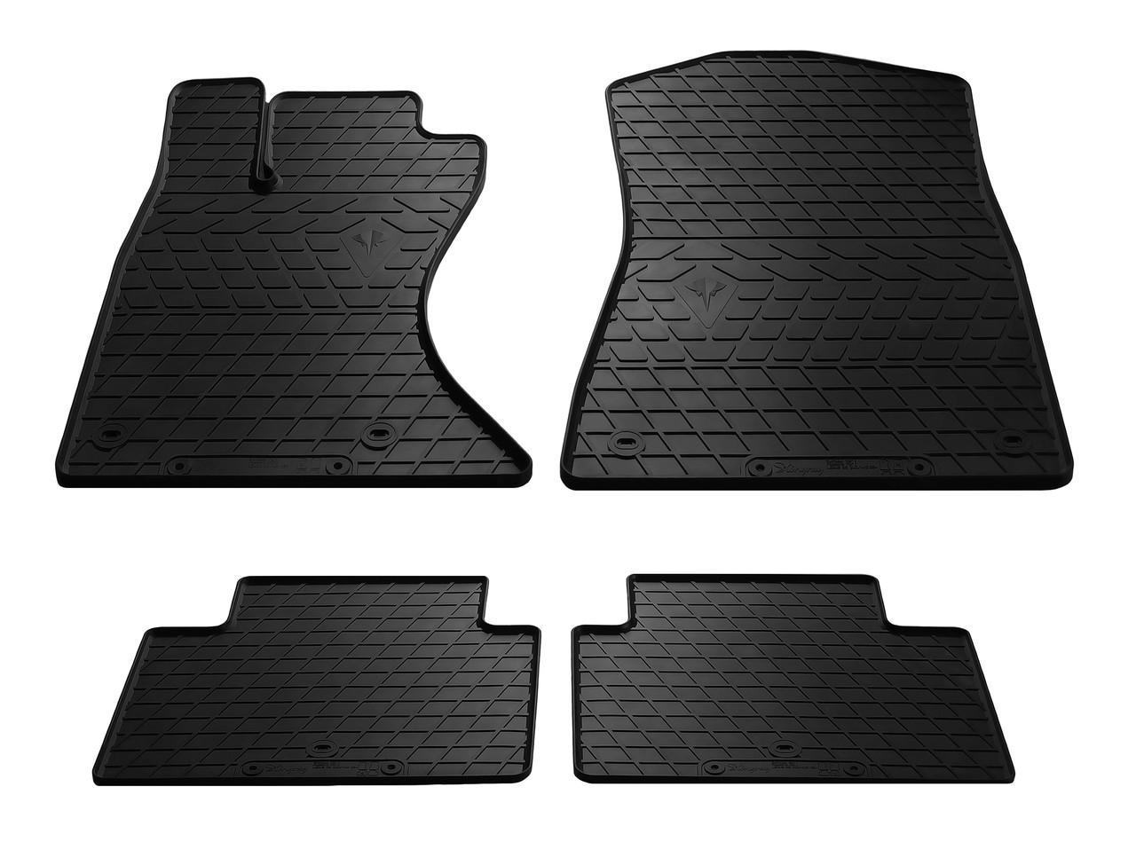 Коврики в салон резиновые для Lexus GS (4WD) 2005-2011 Stingray (4шт)