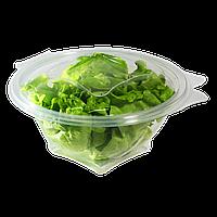 Салатник пластиковый с крышкой 500мл  FT717-500